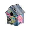 colourful bird house