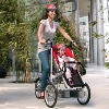 taga foldable bike and stroller in one